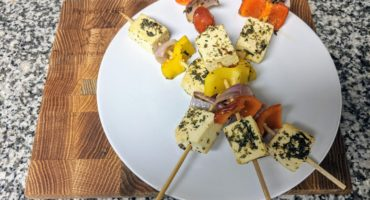 tofu veggie kebabs