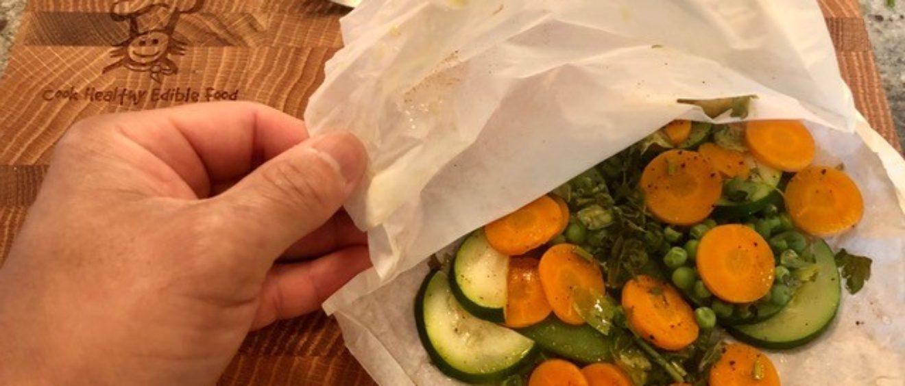veggies en papillote